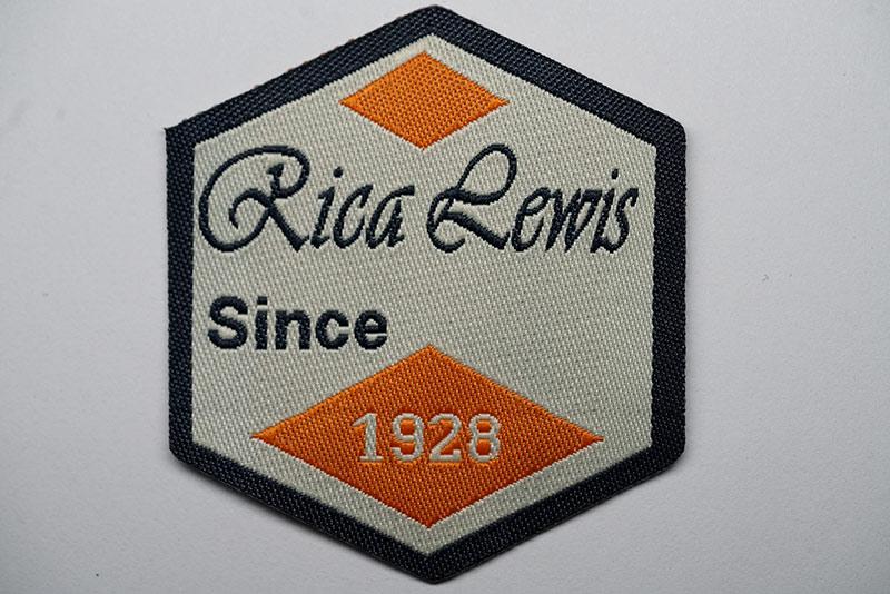 Branded-woven-badge