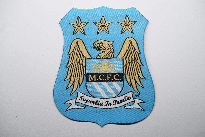 Football-club-woven-badge