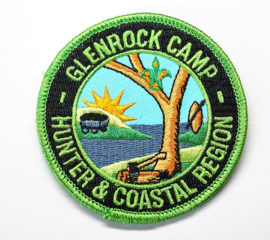 Scout-Camp-overlock-border-embroidery-badge
